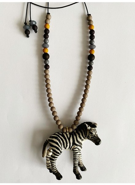 ByMelo dierenketting zef zebra