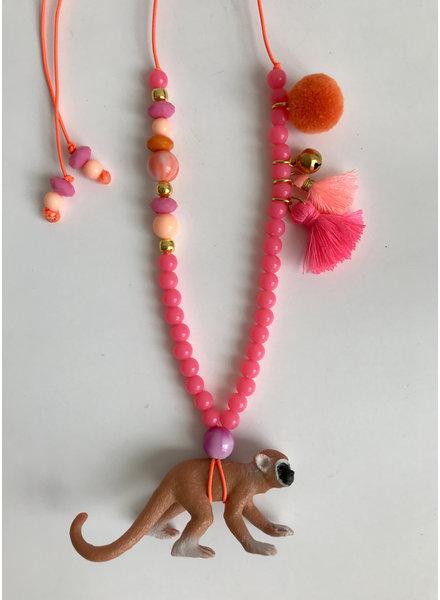 ByMelo dierenketting aagje het aapje