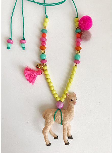 ByMelo dierenketting annie alpaca