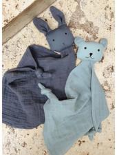 Liewood yoko mini cuddle cloth 2-pack blue mix