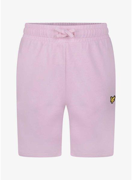 Lyle & Scott classic sweat short pink