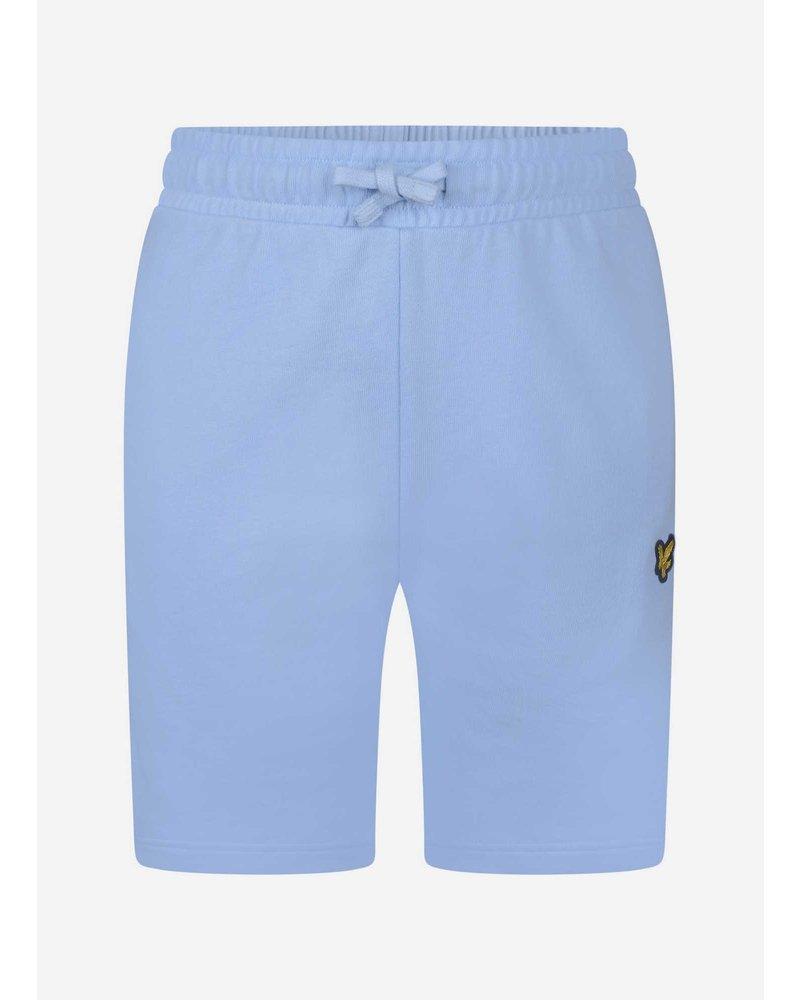 Lyle & Scott classic sweat short chambray blue