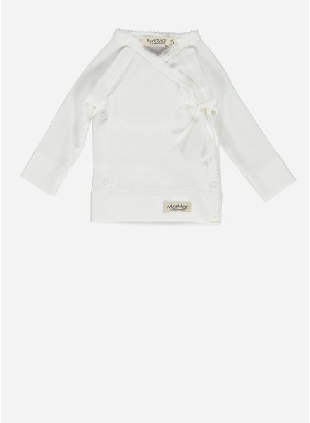 MarMar Copenhagen new born tut wrap ls gentle white