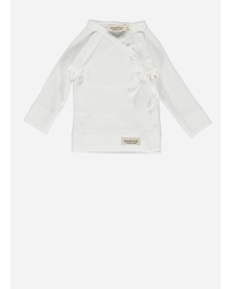 MarMar Copenhagen new born tut wrap ls gentle white