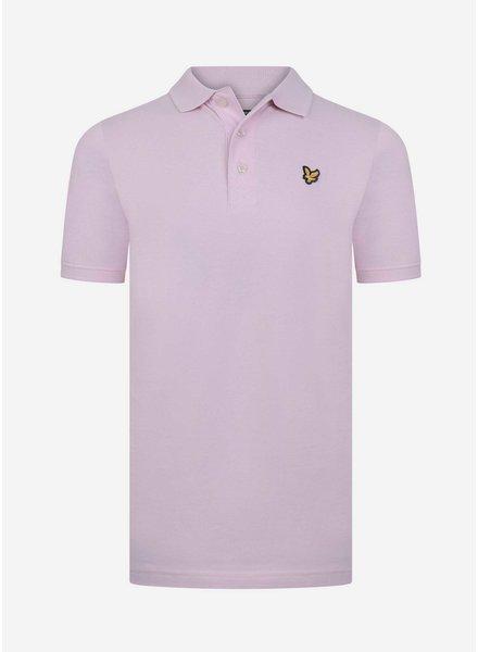 Lyle & Scott classic polo shirt pink