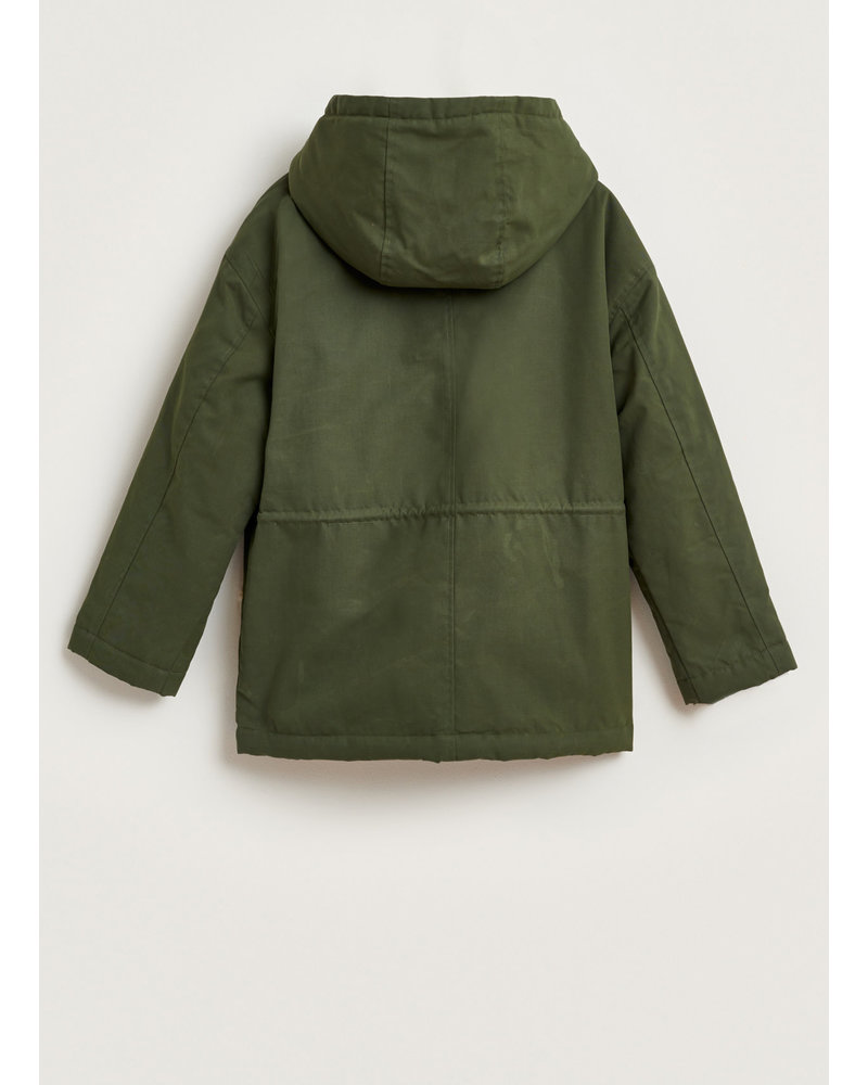 Bellerose hero jacket dark olive