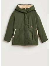Bellerose hero jacket dark olive