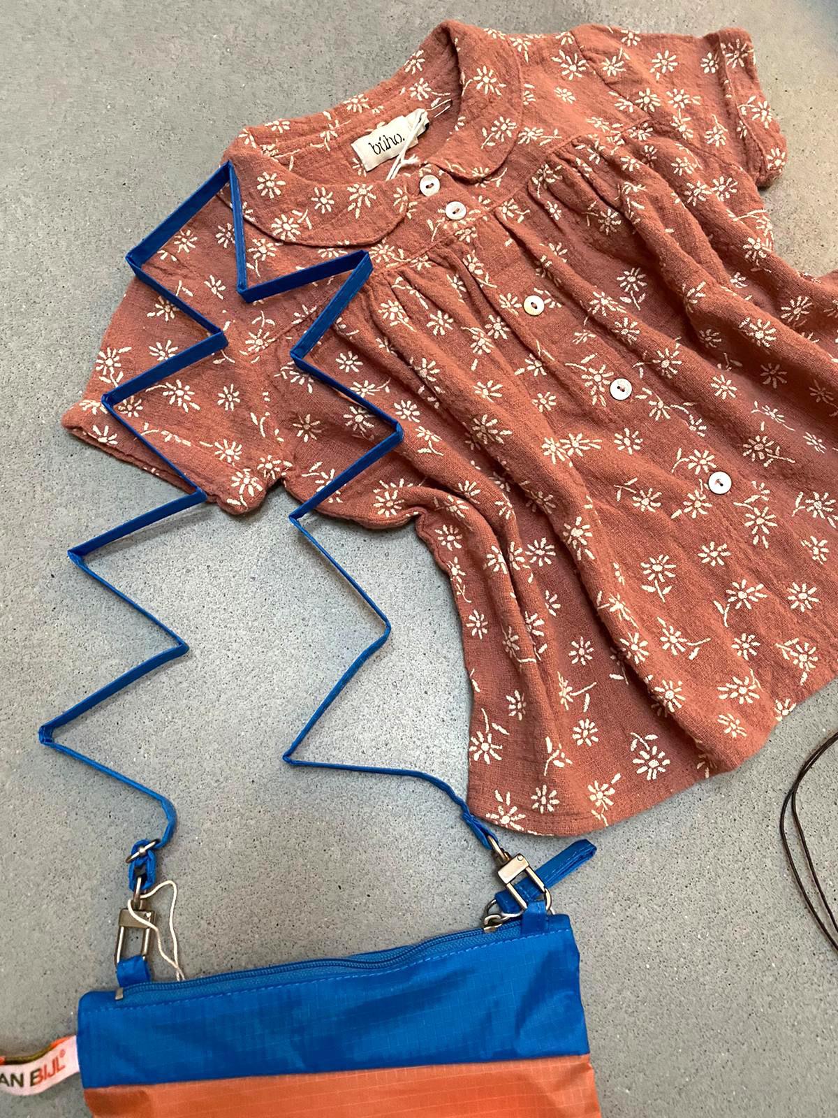 blouse en tas
