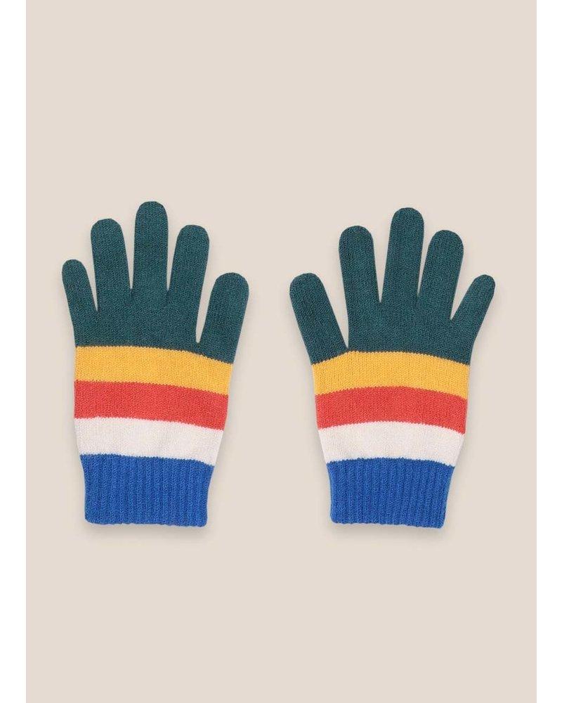 Bobo Choses multicolor stripes gloves