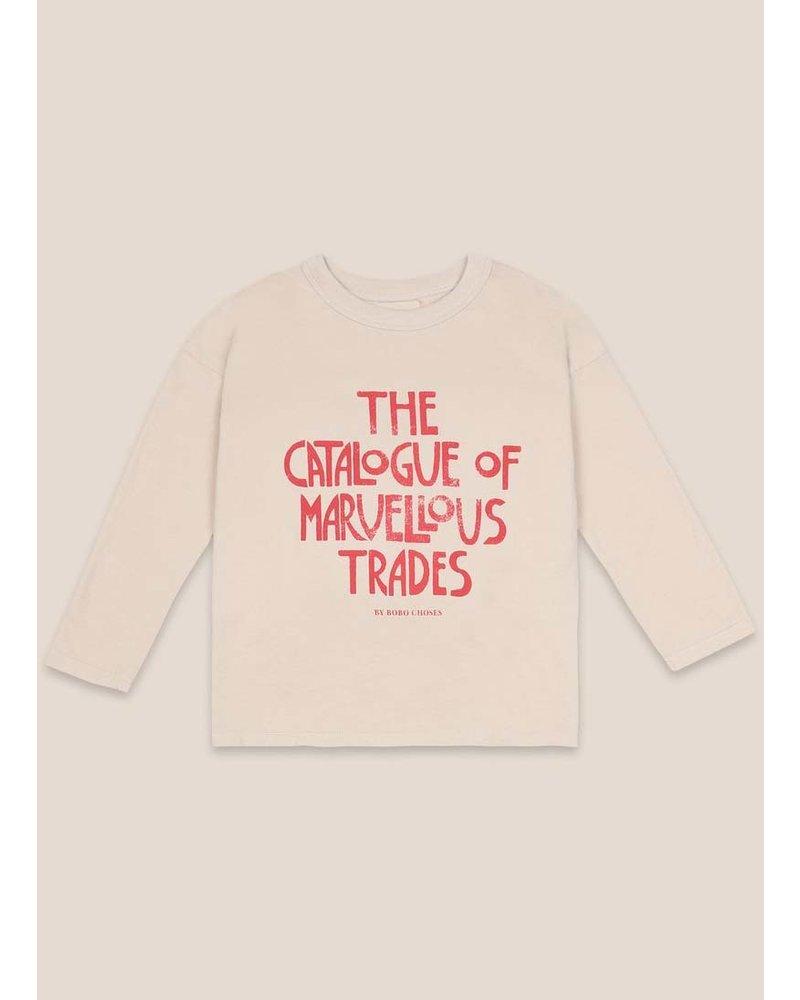 Bobo Choses catalogue of marvelous trades long sleeve