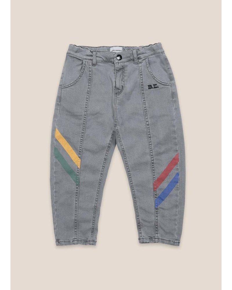 Bobo Choses multicolor denim trousers
