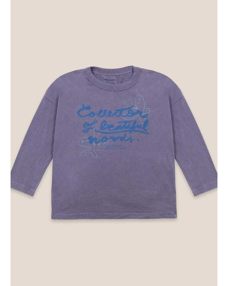 Bobo Choses collector of beautiful things long sleeve t-shirt