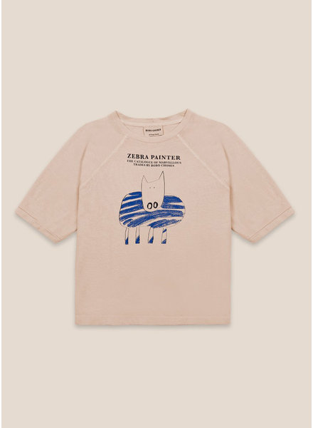 Bobo Choses zebra painter t-shirt
