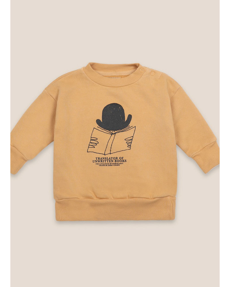 Bobo Choses translator sweatshirt