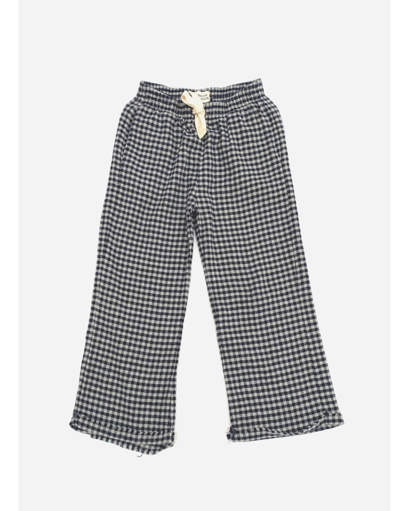 Long Live The Queen check pants blue check