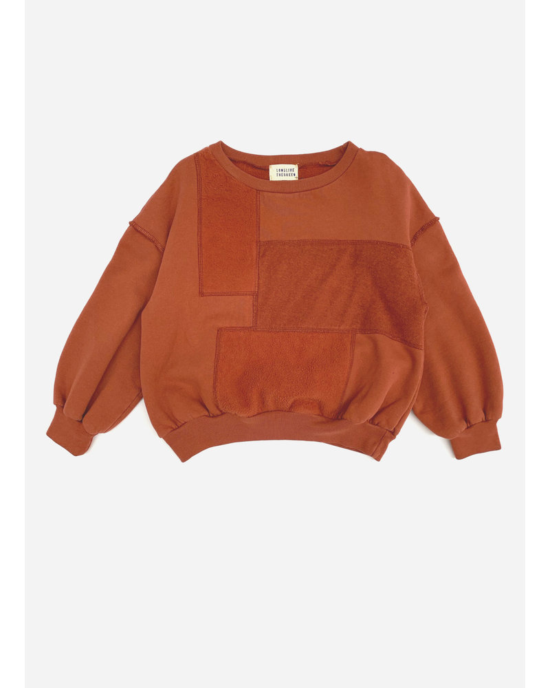 Long Live The Queen sweater rust