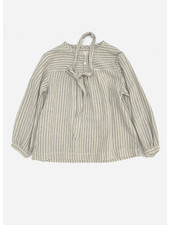 Long Live The Queen striped blouse blue stripe