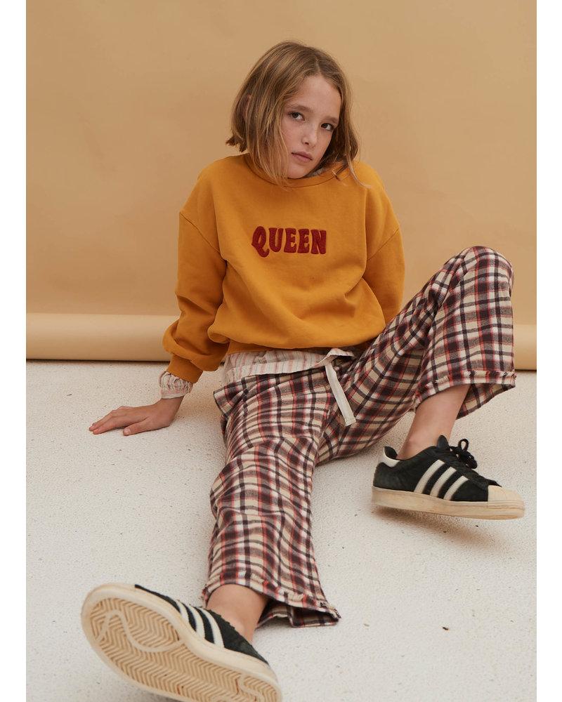 Long Live The Queen sweater golden yellow