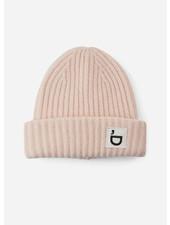 Designer Remix Girls sterling hat light dusty pink