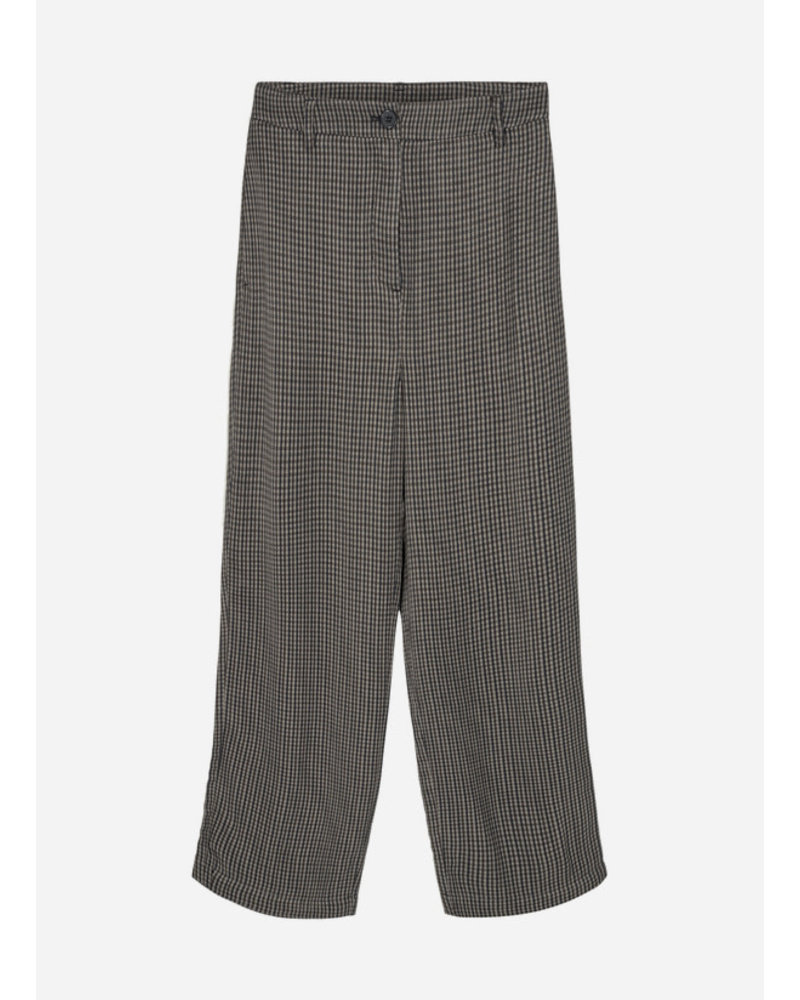 Designer Remix Girls frigg pants multi colour check