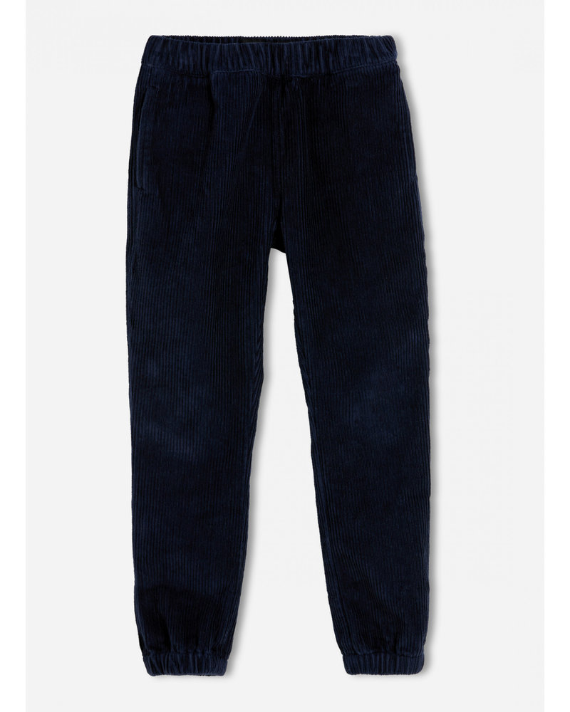 Finger in the nose storm sailor blue cord pant
