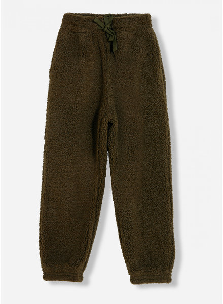 Finger in the nose connie khaki jogg pant