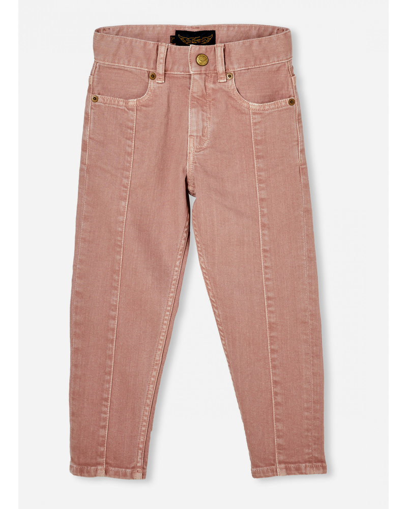 Finger in the nose emma light pink 5 pocket boyfriend fit jeans