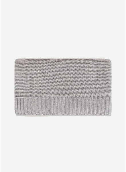 Repose blanket#1 silver grey