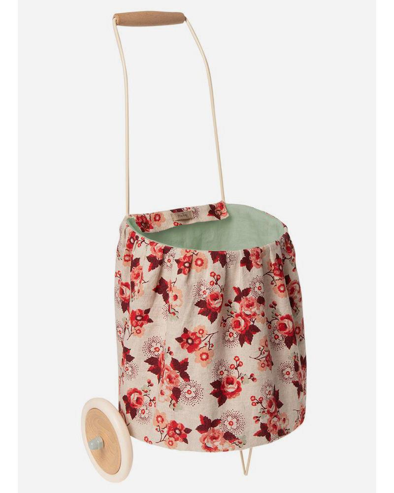 Maileg trolley - rose