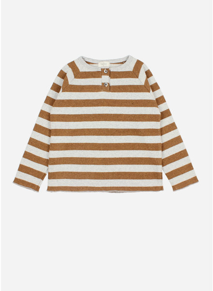 Buho eliot sweater nougat/pearl