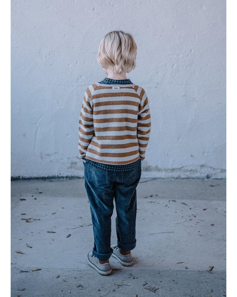 Buho eliot sweater nougat/pearl