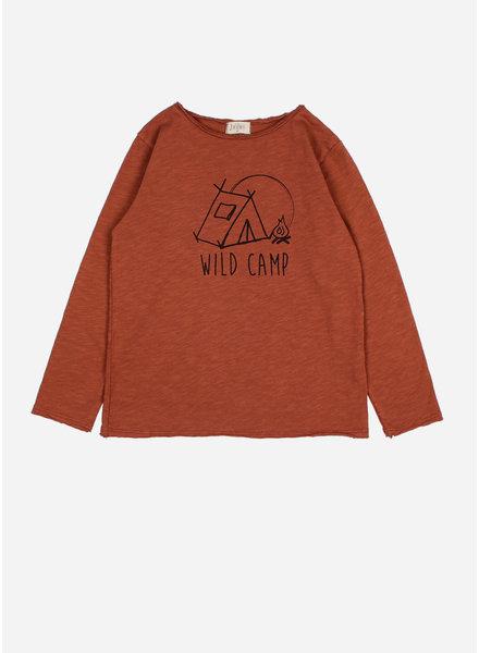 Buho andy wild camp tshirt argile