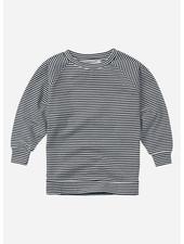 Mingo long sleeve stripes black/white