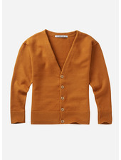 Mingo soft knit cardigan light ochre