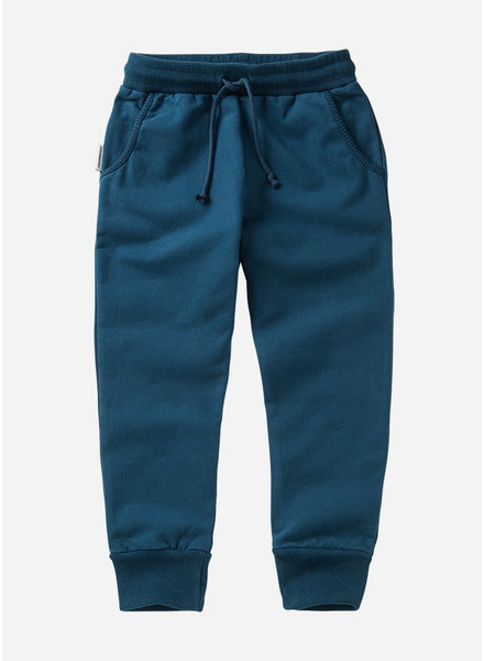 Mingo slim fit jogger teal blue