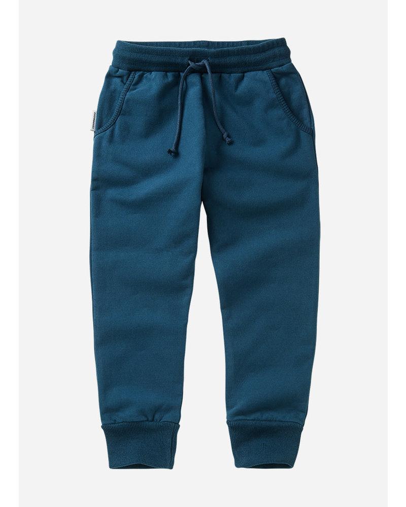 Mingo slim fit jogger teal blue