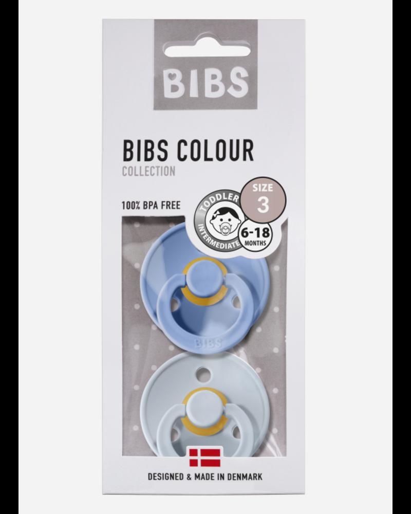 Bibs T3 fopspeen natuurrubber sky blue - baby blue