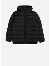 Lyle & Scott puffa jacket black