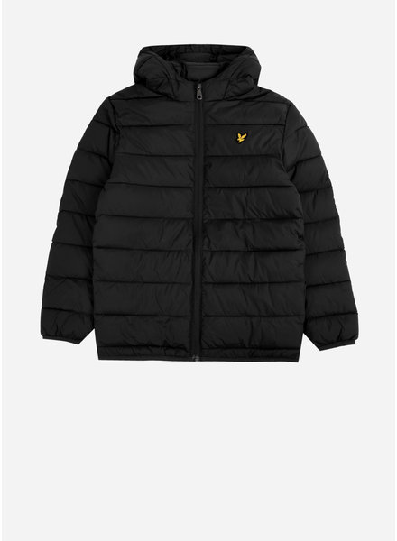 Lyle & Scott puffa jacket black