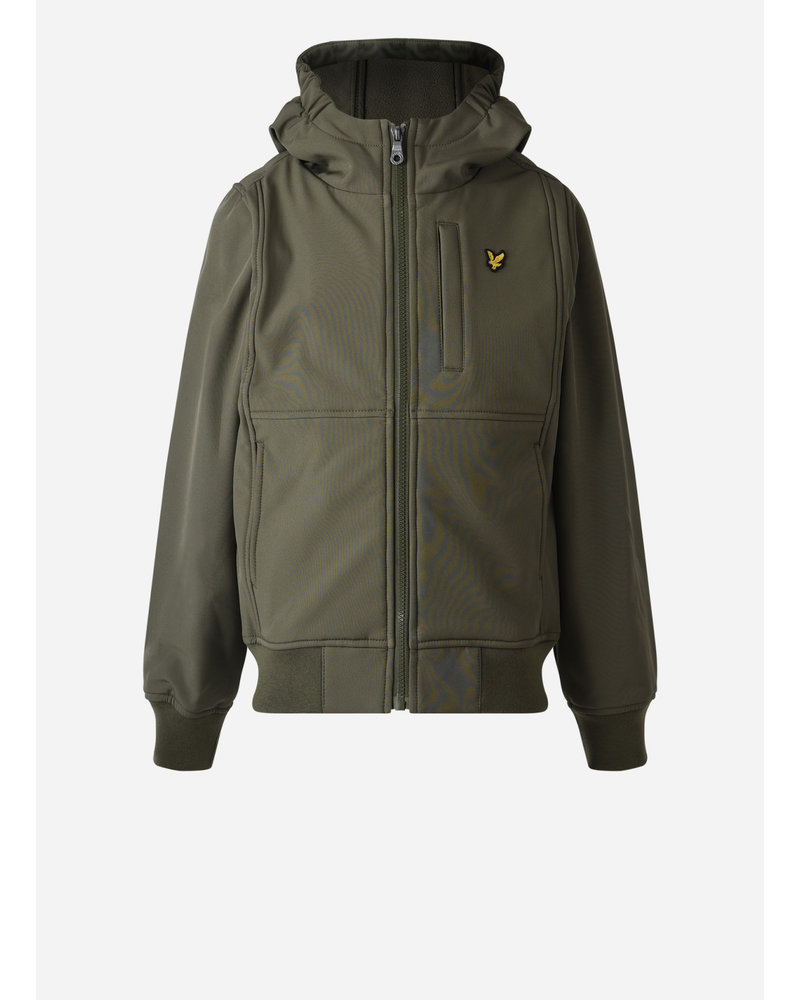Lyle & Scott soft shell jacket grape leaf