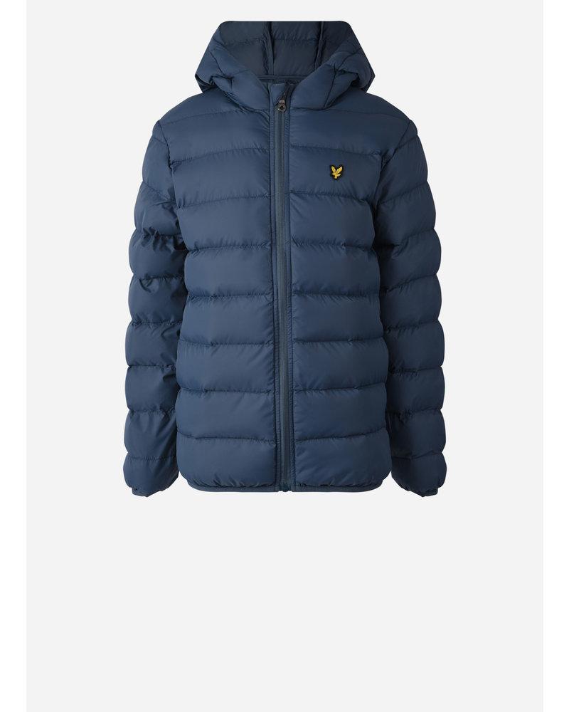 Lyle & Scott puffa jacket orion blue