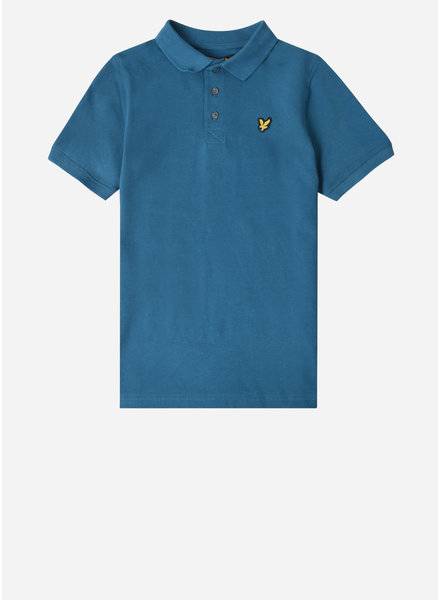 Lyle & Scott classic polo shirt ink blue