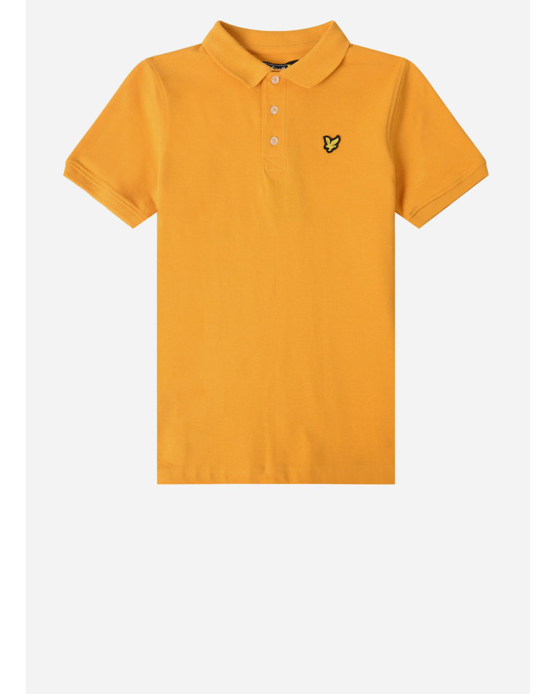 Lyle & Scott classic polo shirt autumn blaze