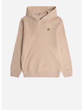 Lyle & Scott classic oth hoody fleece cement