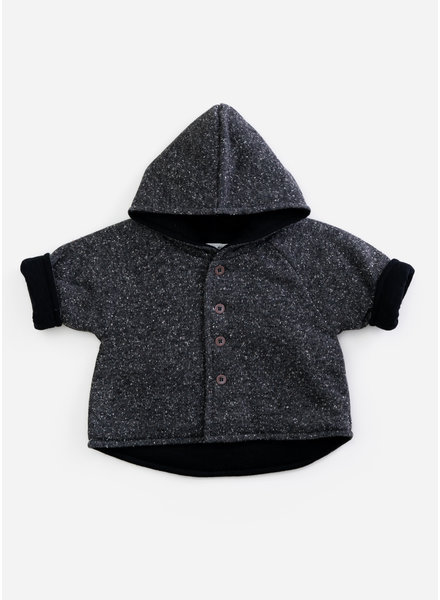Play Up recycled jersey coat - rasp - P9046 - PA01 - 1AH11402