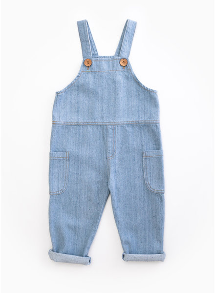 Play Up recycle denim dungaree - D001 - PA03 - 3AH11501