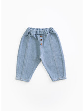 Play Up recycled denim trousers - denim - D001 - PA01 - 1AH11607