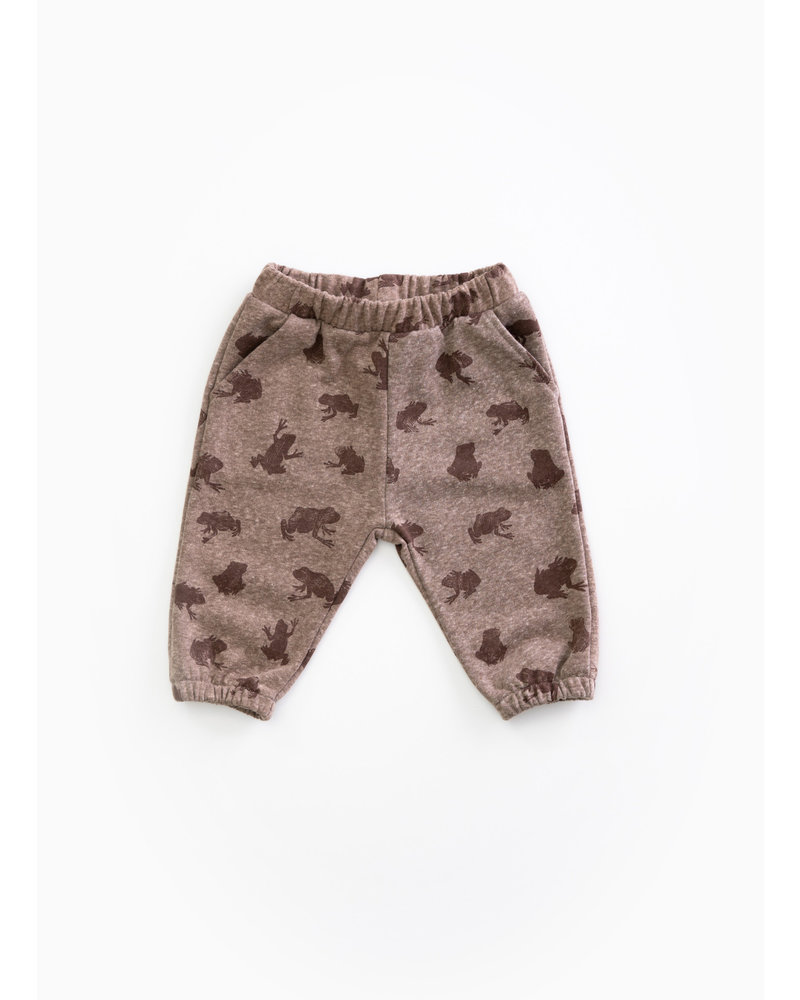 Play Up fleece trousers - walnut -  E339B - PA01 - 1AH11605
