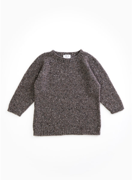 Play Up tricot sweater - walnut - P8062 - PA03 - 3AH11357