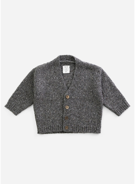 Play Up knitted cardigan - walnut - P8062 - PA03 - 3AH11405